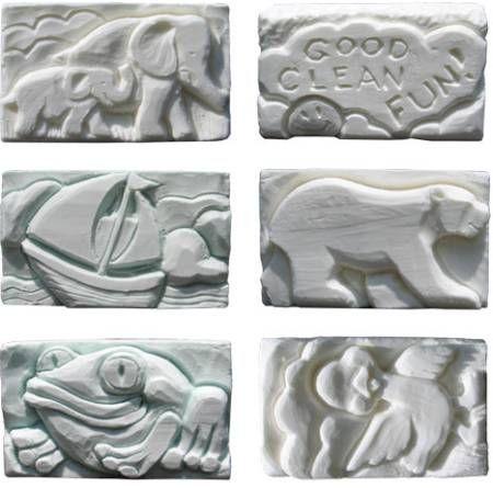 Sculture in sapone