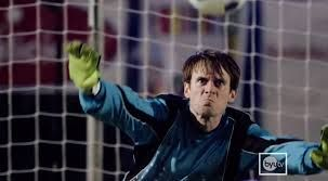 Search up '' GoalKeeper gets Hit In The Face 5 Times-Scott Sterling'' on the internet and you will find this very funny video of a guy getting hit in the face 5 TIMES!!! And if you are wondering this video is fake,so no need to worry about this.