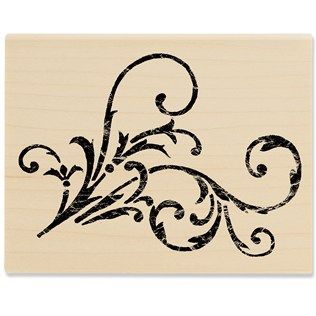 Stampabilities Vintage Flourish 03 Rubber Stamp   Shop Hobby Lobby