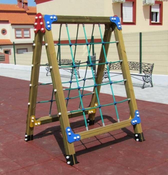 M s de 25 ideas incre bles sobre parque infantil en pinterest dise o de patio de recreo for Juegos de jardin infantiles de madera