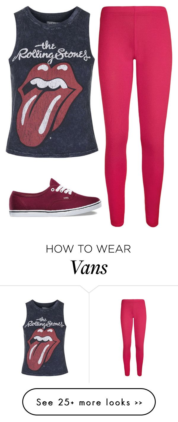 """"""""""" by catycan23 on Polyvore featuring WearAll, Topshop and Vans"""