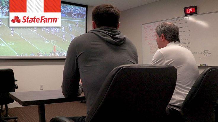 Bernie Kosar & Dustin Fox in the film room: Bears' defense