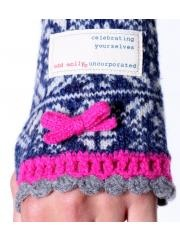 A wanthave ;-) Odd Molly - Jacquard Sleevewarmers Blue http://www.hippekippe.nl/odd-molly-jacquard-sleevewarmers-blue