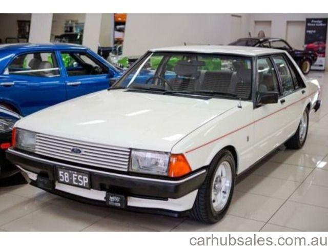 1981 Ford Fairmont XD Ghia ESP White 4 Speed Manual Sedan Australian Collectors - CarHubSales.com.au