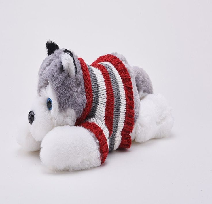 40cm Siberian Husky plush toy-The Creative Playroom