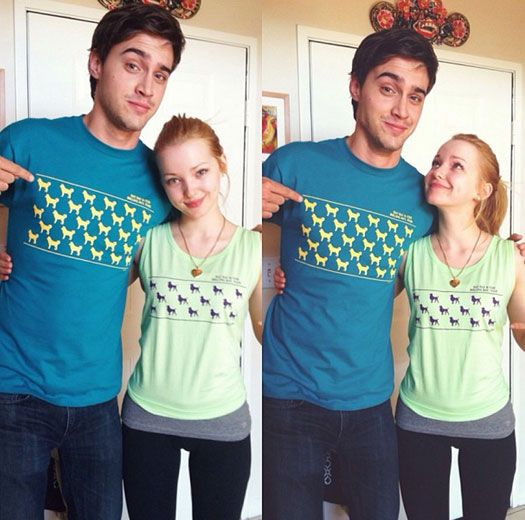 dove cameron and ryan mccartan liv and maddie - Google Search