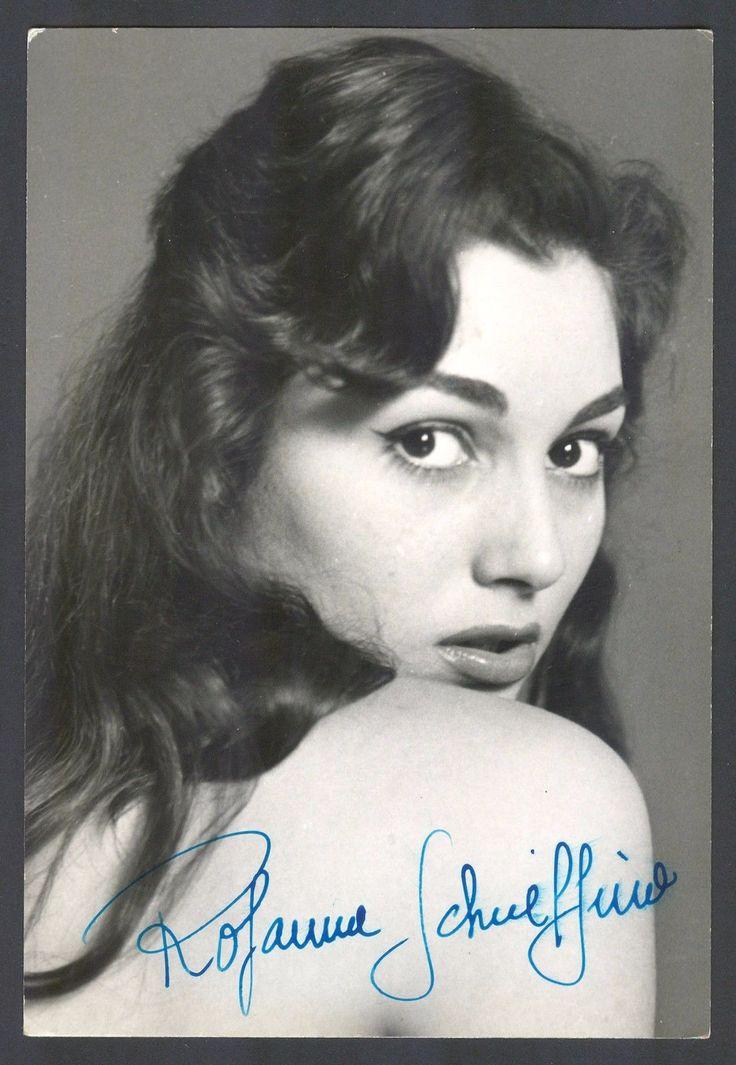 Rosanna Schiaffino Original Autograph Autografo Hand Signed Photo RARE 1 | eBay