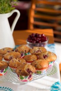 Meggy eltevése meggyes muffin recepttel