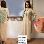 Maria B Latest Party Wear Eid Collection 2013 For Women & Girls 05