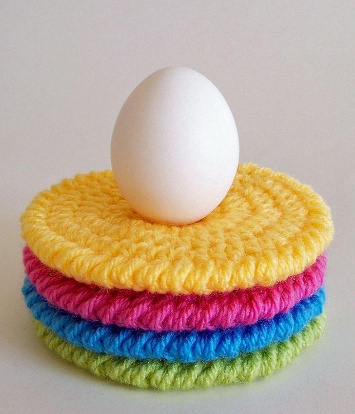 Crochet Coaster Pattern, Crochet Pattern, Easter Crochet Patterns, Crochet…                                                                                                                                                                                 More