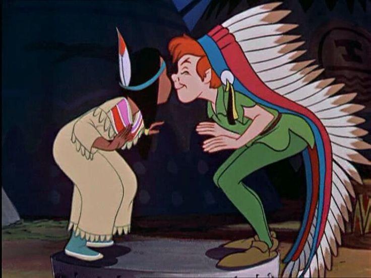Tiger Lily & Peter Pan