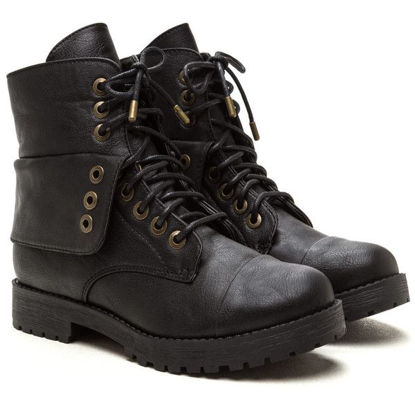 Combat Operations Lace-Up Boots ❤ liked on Polyvore featuring shoes, boots, front lace up boots, lacing boots, lace up shoes, combat style boots and laced up shoes