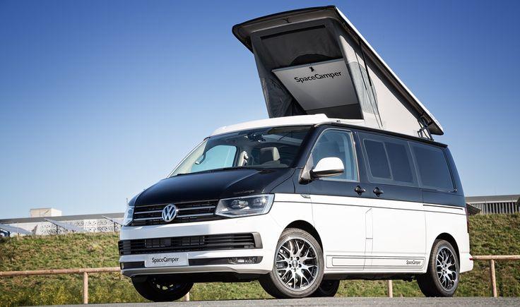 der spacecamper vw t6 camping ausbau reisemobil wohnmobil campingbus und alltagsfahrzeug in. Black Bedroom Furniture Sets. Home Design Ideas