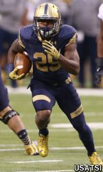 There are no forgivable fumbles in the world of University of Notre Dame football running backs coach Tony Alford.