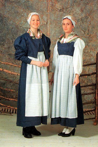 Traditional dress of the Kalajoki River region, Northern Ostrobothnia | Kalajokilaakson kansallispuku