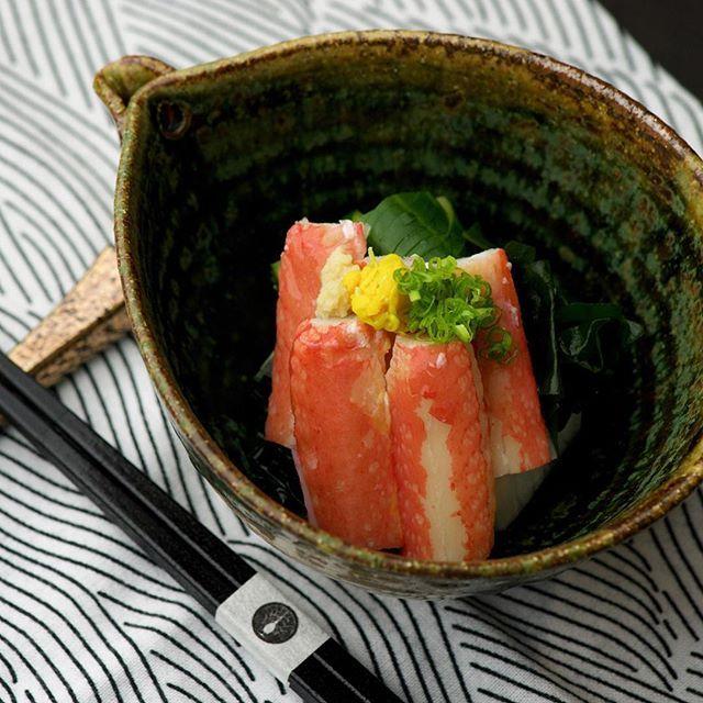 Snow Crab Japanese ceviche ずわい蟹酢
