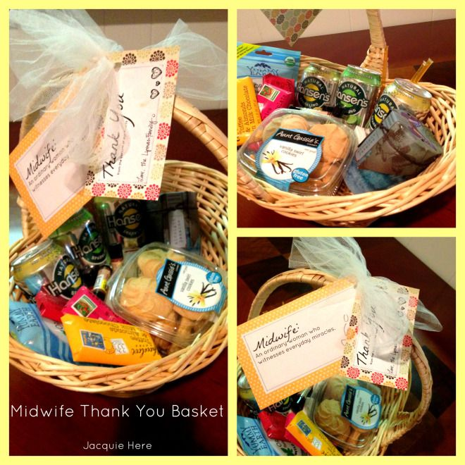 Thank You For Your Business Basket: 25+ Best Ideas About Midwife Gift On Pinterest