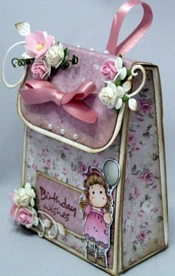Cards made by Chantal: Rugzakje voor mijn dochter