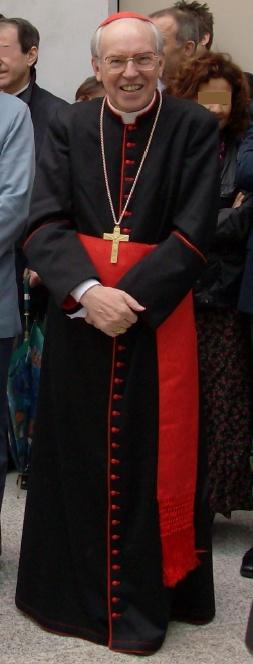 Suburbiciar Bishop Giovanni Battista Re of Sabino-Poggio Mirteto