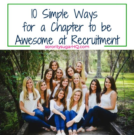 recruitment pamphlet for pnms Sorority recruitment can be very stressful for a lot of sorority women who knew finding your bffs could cause this post is your short & sweet summary of the do's and don'ts for pnms do make friends with other pnms this is your first opportunity in college to meet new people and absolutely.