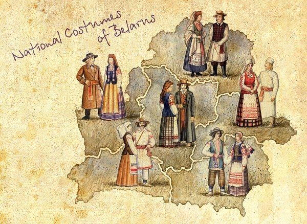 National costumes of Belarus