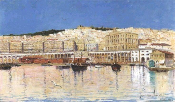 Alg rie peintre fran ais francisque noailly 1855 1942 - Peinture satinee algerie ...