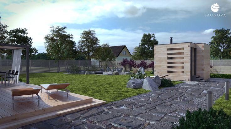 Sauna ogrodowa z bali drewnianych *Narvi* Saunova to seria ekskluzywnych saun ogrodowych, zbudowanych z bali drewnianych. Nasza propozycja skierowana jest zarówno do Klientów indywidualnych, jak i biznesowych. Oferujemy nie tylko produkcję saun, ale również darmowy montaż na terenie całego kraju. Zapraszamy do zapoznania się z naszymi saunami.