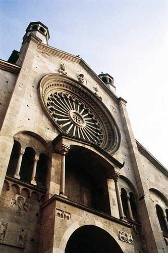 Façade, Modena Cathedral, #Italy