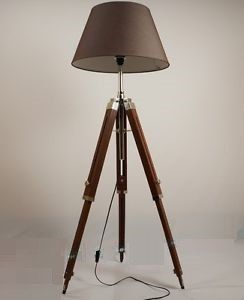 tripod floor lamp/standard lamp shade not by ElegantLighting