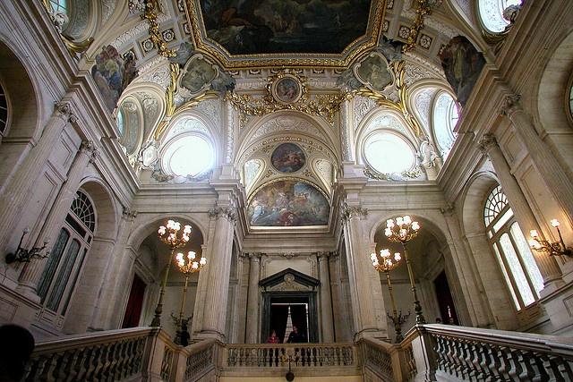 Royal Palace Stairs - Madrid 2003 | Royal Palace, Madrid ...