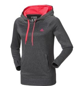 Pull on the adidas® Women's Ultimate Fleece Hoodie and beat cooler  temperatures during your training