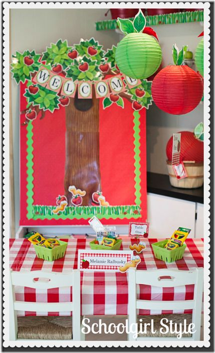 Apple Classroom Decor : Images about classroom decorate on pinterest the
