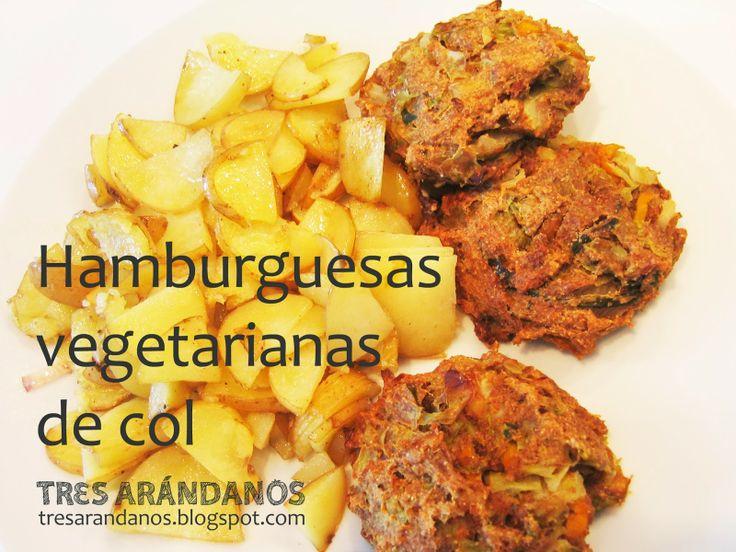 Receta de hamburguesas vegetarianas de col (colburguesas)