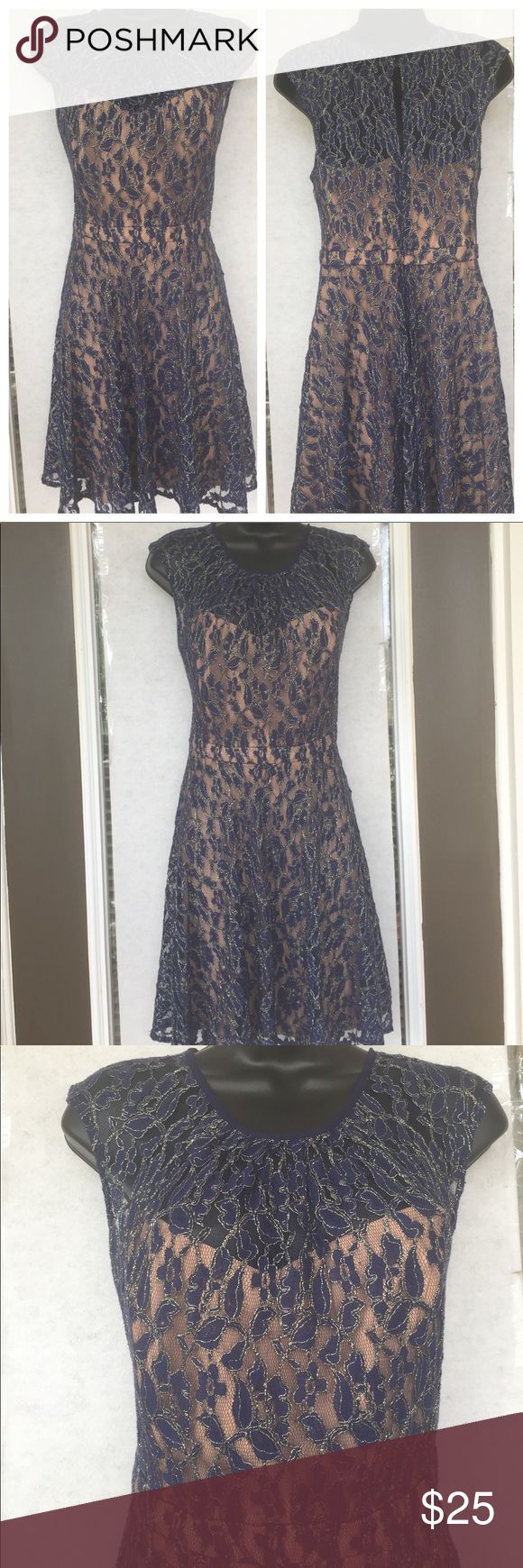 MM Coture Sheer Lace Dress MM Coture Sheer Lace Dress. Zip and back clasp enclosure. Lined. Excellent condition. MM Couture Dresses