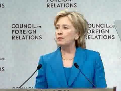 Hillary Clinton accidentally admits that the CFR runs this nation.  Wow...and see list of members! Angelina Jolie! Are you kidding me?!!
