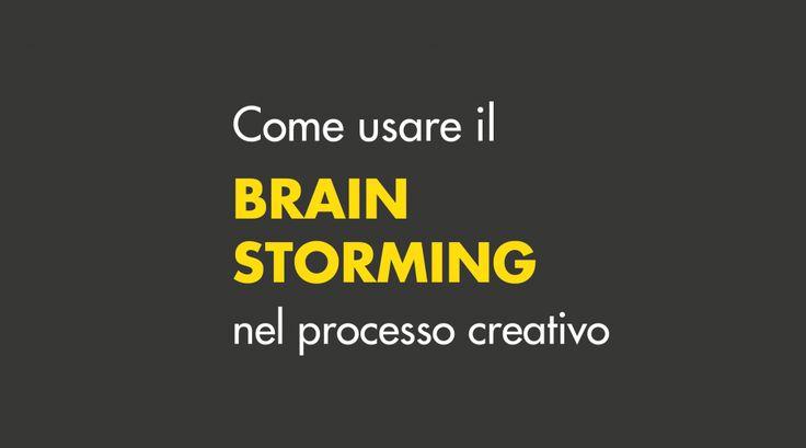 brainstorming nel design