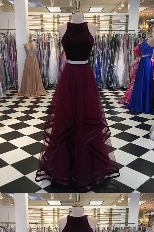 23188ec2f2 Burgundy Prom Dress  BurgundyPromDress