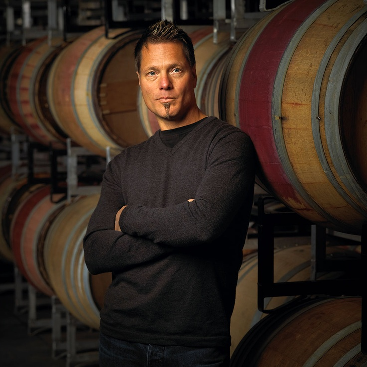Jim Faulkner, quite possibly the best-looking winemaker in the #okanagan. He works for Mt. Boucherie.