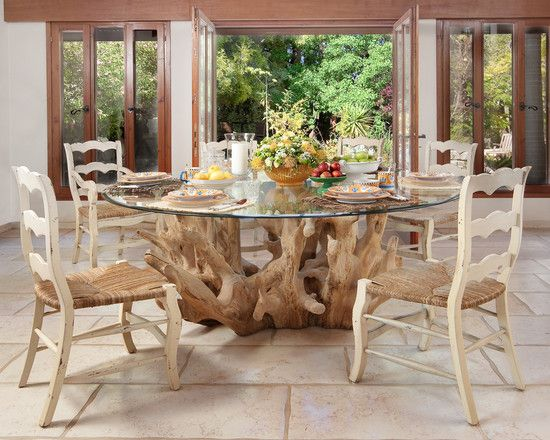 The Right Kind Of Tree Trunk Coffee Table  Excellent Contemporary Dining  Room Tree Trunk Coffee. 33 best Tree Trunk or Root and Glass Coffee Table Ideas images on