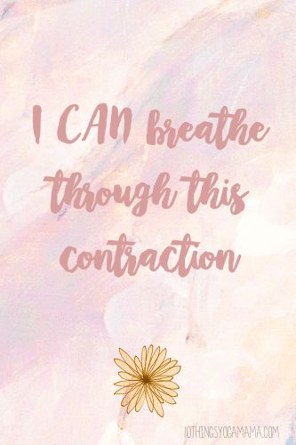 12 Positive Birth Affirmations