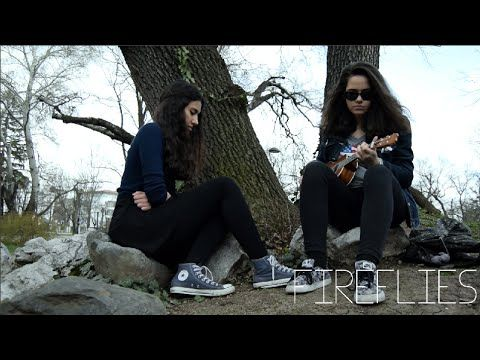 (7) Owl City - Fireflies (Ukulele Cover by Nelly and Georgia) - YouTube