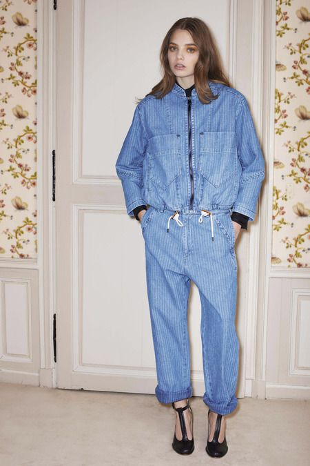 See by Chloé pre-fall '14: denim jumpsuit