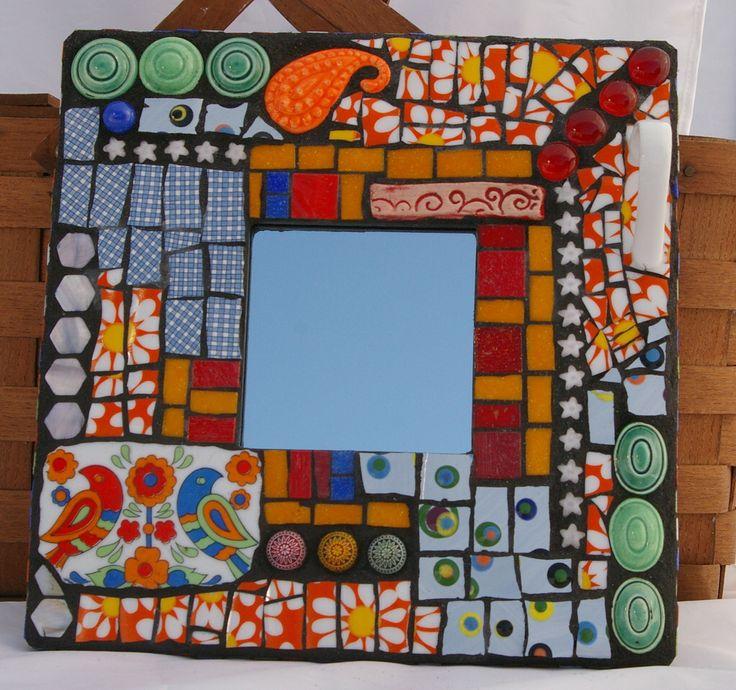 342 best mosaic frames images on Pinterest   Mosaic mirrors, Mosaics ...