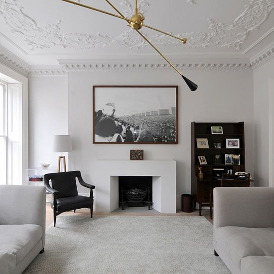 Crown Molding Embellishments modern ceiling