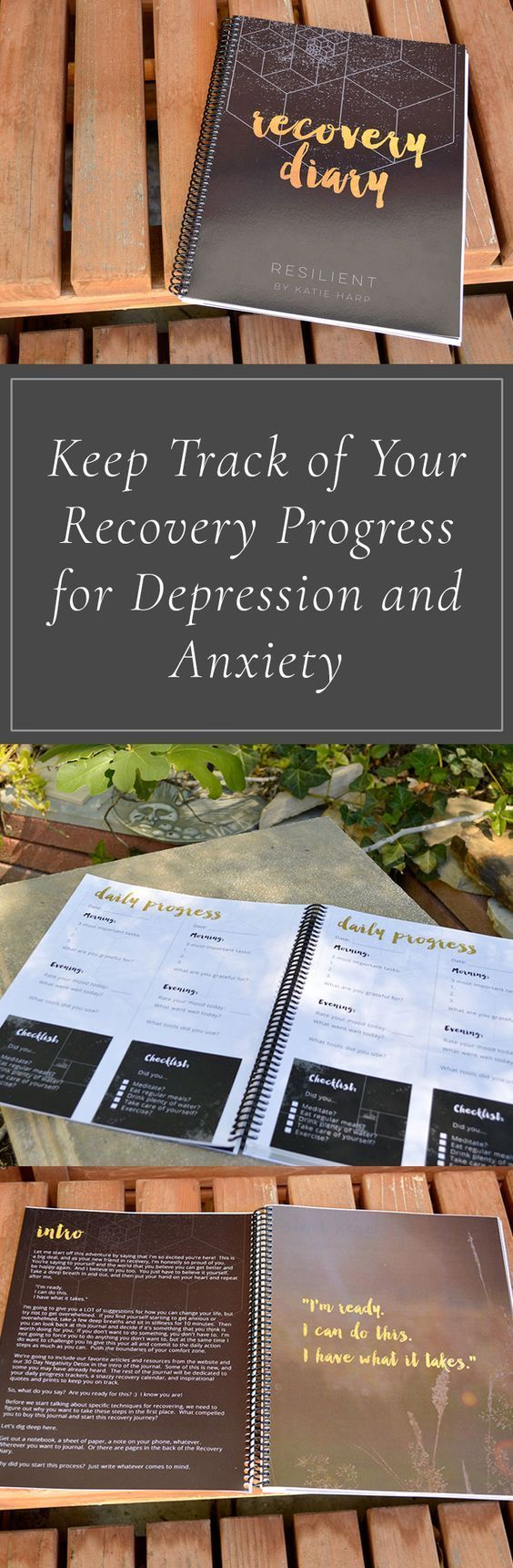 Are you looking for a way to keep track of your daily progress in recovering from depression? Use our Recovery Diary to keep track of your recovery progress for depression and anxiety. #AcupunctureforAnxiety