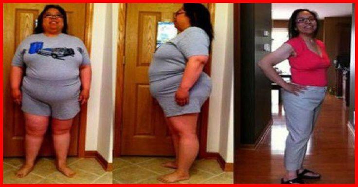 Son nutritionnsite n'y croyait pas : Elle a bu cette POTION et a perdu la moitié de son poids en 3 mois !!!