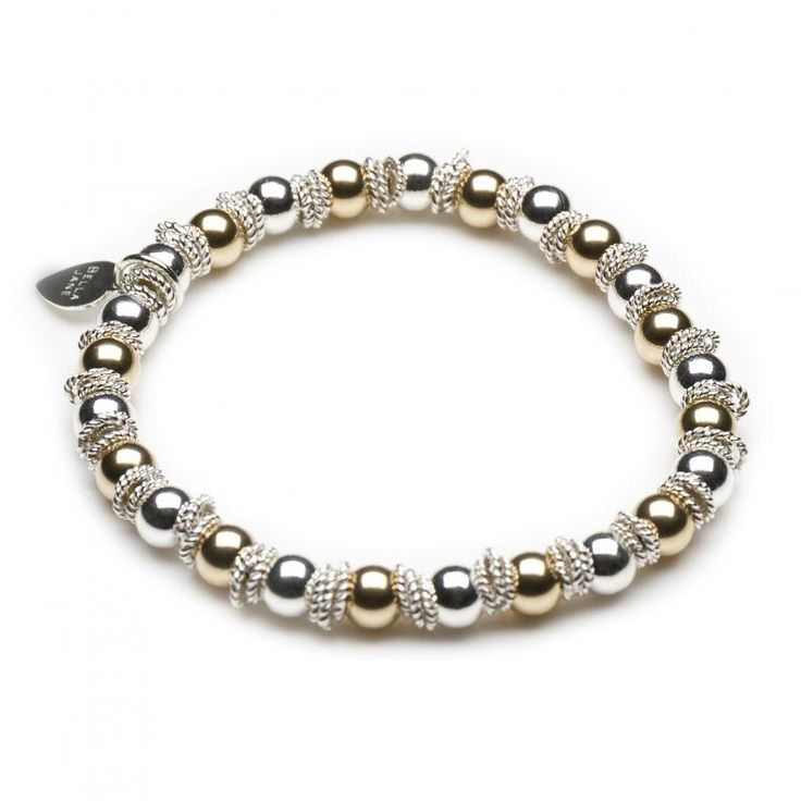 Serenity Bracelet Silver Gold | Handmade Jewellery | Bella Jane Jewellery