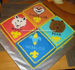 Cake Decorating Ideas For Boy Scouts : 78+ images about Scout cakes on Pinterest Arrow of ...