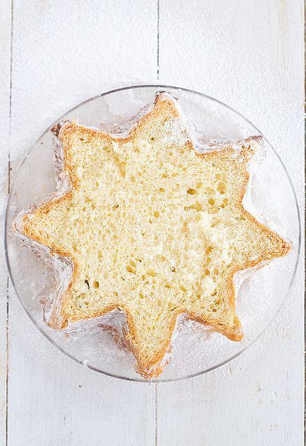pandoro + crème patissière au citron ou cannelle <3