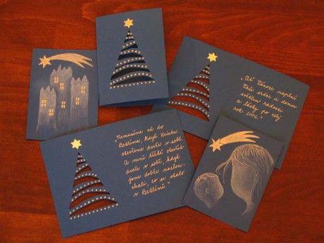 Lasička - Tvoření pro radost - Fotoalbum - 09 Zimní, adventní a vánoční inspirace - Vánoční a novoroční přání, jmenovky na dárky - 51 Vánočn...